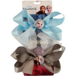 Disney Frozen II Girls 3-pk. Anna & Elsa Bow Set