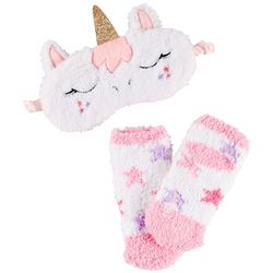 Limited Too Girls 2-pc. Unicorn Sleep Mask & Socks Set
