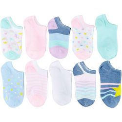 Capelli Girls 20-pk. Star Socks With Bonus Snap Clips