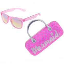 Capelli Girls 2-pc. Mermaid Scale Sunglasses & Case