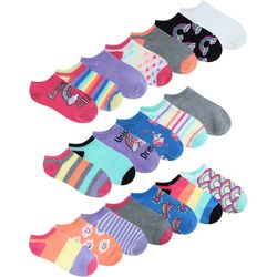Charlotte Girls 20-pk. Multi Print Rainbow Socks