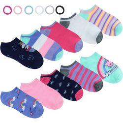 Charlotte Girls 10-pk. Unicorn Socks & Hair Ties Set