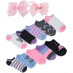 Charlotte Girls 12-pc. Unicorn Socks & Bows Set
