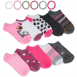 Charlotte Girls 16-pc. Cat Socks & Hair Ties