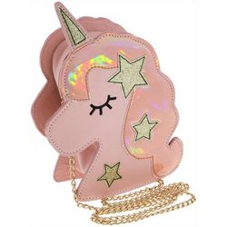 Capelli Girls Starry Unicorn Crossbody Handbag