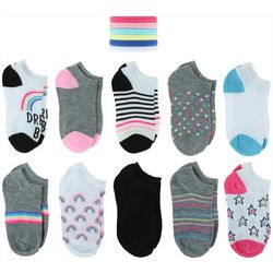 Capelli Girls 20-pk. Big Dreams Socks With Bonus Hair Ponies