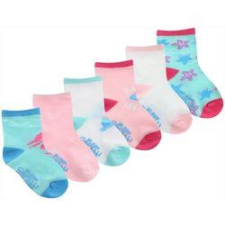 Capelli Toddler Girls 6-pk. Mermaid Socks