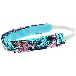 Capelli Girls Reversible Sequin Headband