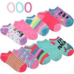 Charlotte Girls 10-pk. I'm Awesome Socks & Hair Ties Set