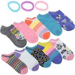 Charlotte Girls 13-pc. Meow Squad Socks & Hair Ties Set