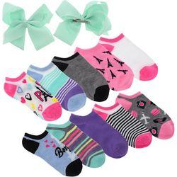 Charlotte Girls 12-pc. Bonjour Paris Socks & Bows