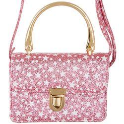 Olivia Miller Girls Glittery Stars Handbag