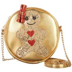 Olivia Miller Girls Gingerbread Girl Canteen Purse