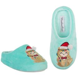 Mushmellow Girls Santa Mermaid Slippers