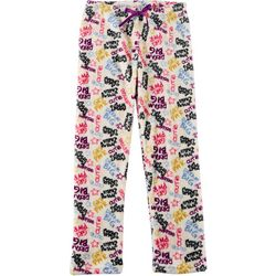 Limited Too Big Girls Text Print Pajama Pants