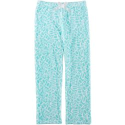 Bebe Big Girls Tossed Logo Pajama Pants