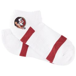 Florida State Girls Logo No Show Socks