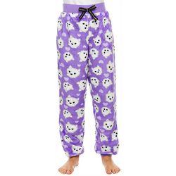 Jelli Fish Inc. Big Girls Dog Pajama Pants