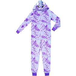 Jelli Fish Inc. Big Girls Unicorn Sleeper Pajamas