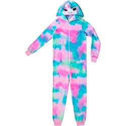Jelli Fish Inc. Big Girls Narwhal Sleeper Pajamas