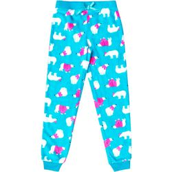 Jelli Fish Inc. Little Girls Polar Bear Jogger Pajama Pants