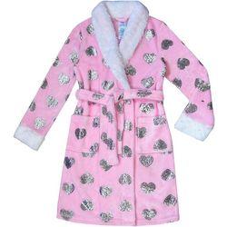 Jelli Fish Inc. Little Girls Foil Heart Robe