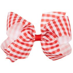 Wee Ones Girls Gingham Hair Bow