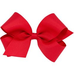 Such A Cutie Girls Solid Grosgrain Hair Bow