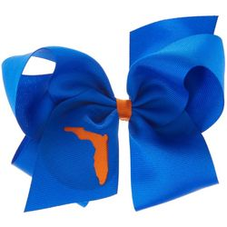 Florida Gators Girls Large UF Hair Bow by Divine Creations