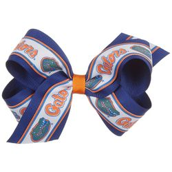 Florida Gators Girls Double Hair Bow by Divine Creations