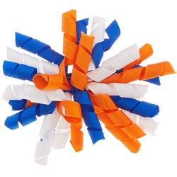 Florida Gators Girls Large Crinkle Wiggle Hair Bow