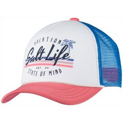 Salt Life Girls Vacay State Of Mind Trucker Hat