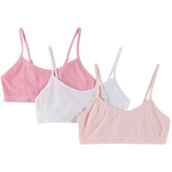 Jessica Simpson Big Girls 3-pk. Solid Seamless Bralettes