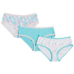 Jessica Simpson Big Girls 3-pk. Floral Hipster Panties