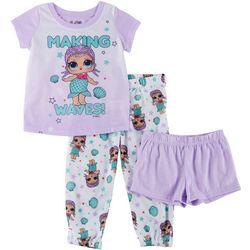 LOL Surprise Big Girls 3-pc. Making Waves Pajama Set