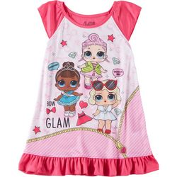LOL Surprise Little Girls Glam Nightgown