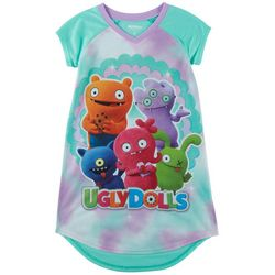 Up Late Ugly Dolls Big Girls Character Nightgown