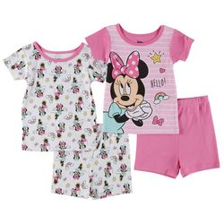 Disney Minnie Mouse Toddler Girls 4-pc. Rainbow Sleep Set