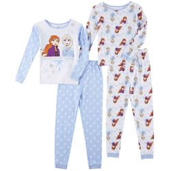 Disney Frozen Toddler Girls 4-pc. The Journey Pajama Set