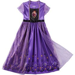 Disney Frozen II Little Girls Anna Glitter Gown