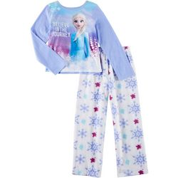Disney Frozen II Big Girls 2-pc. The Journey Pajama Set