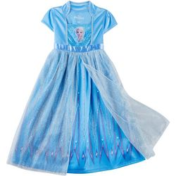 Disney Frozen II Toddler Girls Elsa Glitter Gown