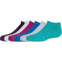 Gold Toe Big Girls 6-pk. Space Dye Liner Socks