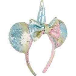 Disney Minnie Mouse Girls Sequin Unicorn Headband
