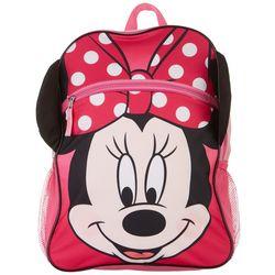 Disney Minnie Mouse Girls Polka Dot Bow Backpack