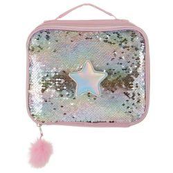 UPD Girls Sequin Star Lunch Bag