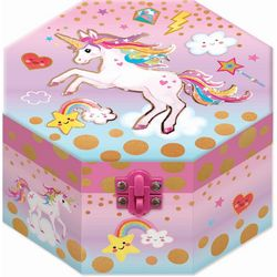 Hot Focus Unicorn Musical Jewelry Box