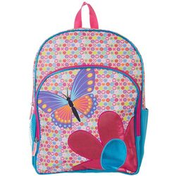 FAB Girls Butterfly Flower Backpack