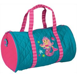 Stephen Joseph Girls Mermaid Duffel Bag