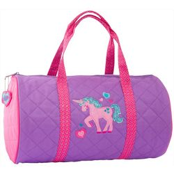Stephen Joseph Girls Unicorn Duffel Bag